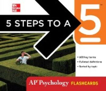 Ebook in inglese 5 Steps to a 5 AP Psychology Flashcards Maitland, Laura Lincoln