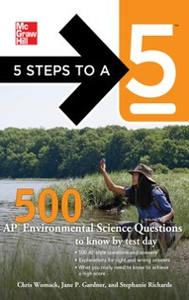 Ebook in inglese 5 Steps to a 5 500 AP Environmental Science Questions to Know by Test Day Evangelist, Thomas A. editor - , Gardner, Jane P. , Richards, Stephanie , Womack, Chris