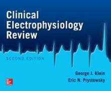 Clinical electrophyisiology review - Eric N. Prystowsky,George J. Klein - copertina