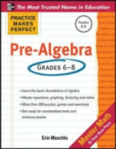 Ebook in inglese Practice Makes Perfect Pre-Algebra Muschla, Erin
