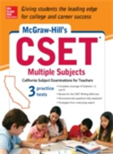 Ebook in inglese McGraw-Hill's CSET Multiple Subjects Johnson, Cynthia