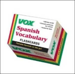 Ebook in inglese VOX Spanish Vocabulary Flashcards Vo, ox