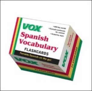 Ebook in inglese VOX Spanish Vocabulary Flashcards Vo, ox