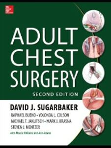 Ebook in inglese Adult Chest Surgery, 2nd edition Bueno, Raphael , Colson, Yolanda , Jaklitsch, Michael , Krasna, Mark