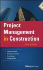 Project Management in Construction