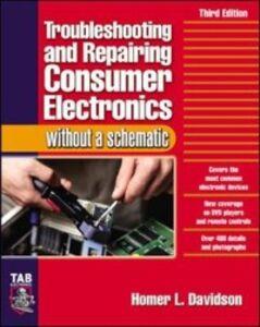 Foto Cover di Troubleshooting & Repairing Consumer Electronics Without a Schematic, Ebook inglese di Homer Davidson, edito da McGraw-Hill Education