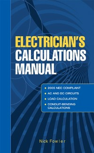 Ebook in inglese Electricians Calculations Manual Fowler, Nick