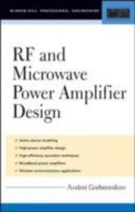 Ebook in inglese RF and Microwave Power Amplifier Design Grebennikov, Andrei