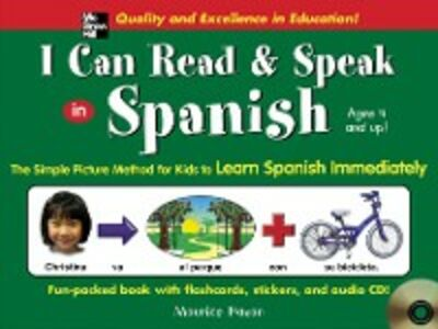 Foto Cover di I Can Read and Speak in Spanish, Ebook inglese di Maurice Hazan, edito da McGraw-Hill Education