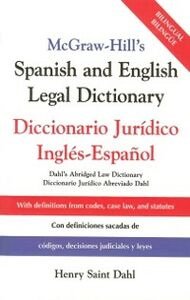 Ebook in inglese McGraw-Hill's Spanish and English Legal Dictionary Dahl, Henry Saint