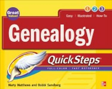 Ebook in inglese Genealogy QuickSteps Matthews, Marty , Sandberg, Bobbi