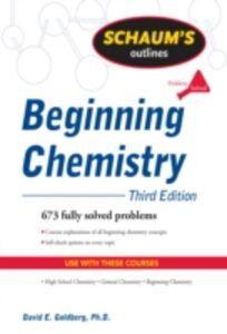 Ebook in inglese Schaum's Outline of Beginning Chemistry, Third Edition Goldberg, David