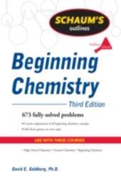Schaum's Outline of Beginning Chemistry, Third Edition