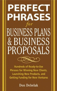Ebook in inglese Perfect Phrases for Business Proposals and Business Plans Debelak, Don