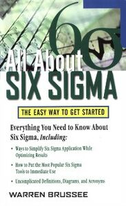 Ebook in inglese All About Six Sigma Brussee, Warren