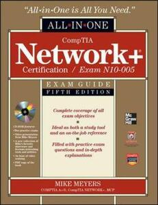 Comptia network+certification all-in-one exam guide - Michael Meyers - copertina