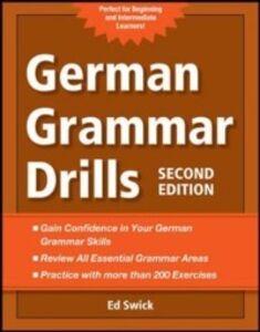 Foto Cover di German Grammar Drills, Ebook inglese di Ed Swick, edito da McGraw-Hill Education