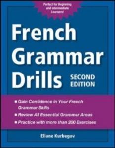 Ebook in inglese French Grammar Drills Kurbegov, Eliane