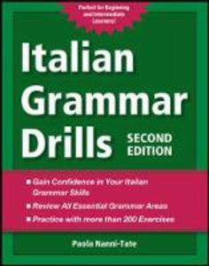 Libro Italian grammar drills Paola Nanni-Tate