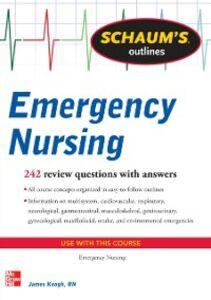 Ebook in inglese Schaum's Outline of Emergency Nursing Keogh, Jim
