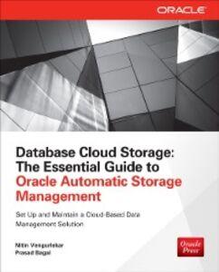 Ebook in inglese Database Cloud Storage Bagal, Prasad , Vengurlekar, Nitin