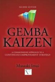 Gemba Kaizen: A Commonsense Approach to a continuous improvement strategy - Massaki Imai - copertina