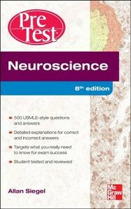 Ebook in inglese Neuroscience Pretest Self-Assessment and Review, 8th Edition Siegel, Allan