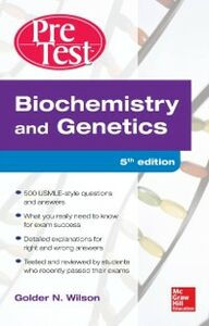 Ebook in inglese Biochemistry and Genetics Pretest Self-Assessment and Review 5/E Wilson, Golder