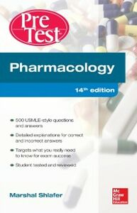 Foto Cover di Pharmacology PreTest Self-Assessment and Review 14/E, Ebook inglese di Marshal Shlafer, edito da McGraw-Hill Education