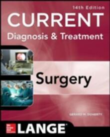 Current diagnosis and treatment surgery - Gerard M. Doherty - copertina