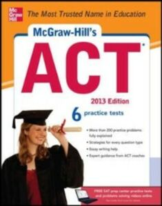 Ebook in inglese McGraw-Hill's ACT, 2013 Edition Dulan, Steven W.