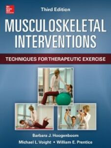 Ebook in inglese Musculoskeletal Interventions 3/E Hoogenboom, Barbara , Prentice, William , Voight, Michael