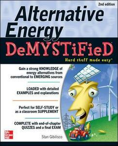 Alternative Energy DeMYSTiFieD - Stan Gibilisco - cover