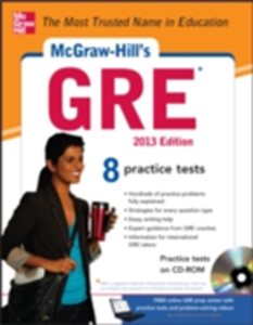 Ebook in inglese McGraw-Hill's GRE, 2013 Edition Dulan, Steven W.