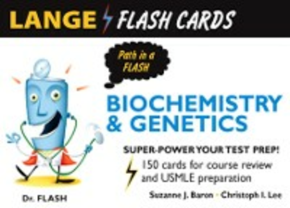 Ebook in inglese Lange Biochemistry and Genetics Flash Cards Baron, Suzanne , Lee, Christoph