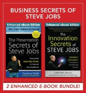 Ebook in inglese Business Secrets of Steve Jobs: Business Secrets of Steve Jobs: Presentation Secrets and Innovation secrets all in one book! (ENHANCED EBOOK BUNDLE) Gallo, Carmine