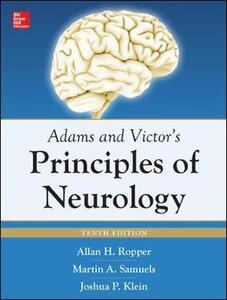 Adams and Victors. Principles of neurology - Allan H. Ropper - copertina