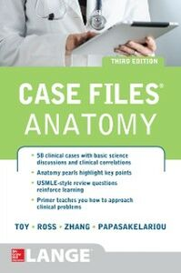 Foto Cover di Case Files Anatomy 3/E, Ebook inglese di AA.VV edito da McGraw-Hill Education