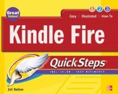 Ebook in inglese Kindle Fire QuickSteps Ballew, Joli