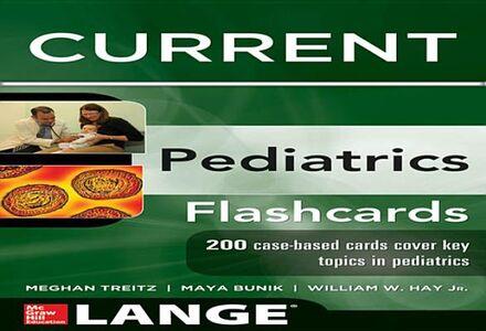 Ebook in inglese Lange CURRENT Pediatrics Flashcards Bunik, Maya , Jr., William W. Hay , Treitz, Meghan