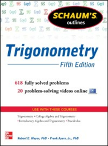 Ebook in inglese Schaum's Outline of Trigonometry, 5th Edition Ayres, Frank , Moyer, Robert E.