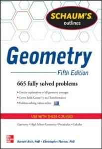 Foto Cover di Schaum's Outline of Geometry, 5th Edition, Ebook inglese di Barnett Rich,Christopher Thomas, edito da McGraw-Hill Education