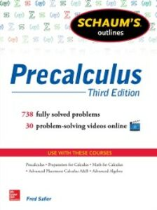 Ebook in inglese Schaum's Outline of Precalculus, 3rd Edition Safier, Fred