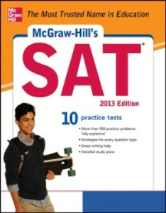 Ebook in inglese McGraw-Hill's SAT 2013 Anestis, Mark , Black, Christopher