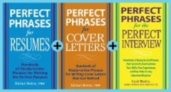 Ebook in inglese Perfect Phrases for Job Seekers (EBOOK BUNDLE) Betrus, Michael