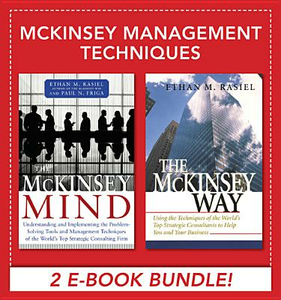 Ebook in inglese McKinsey Management Techniques (EBOOK BUNDLE) Rasiel, Ethan