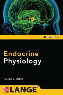 Endocrine physiology - Patricia E. Molina - copertina