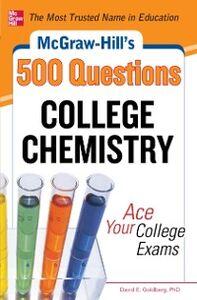 Foto Cover di McGraw-Hill's 500 College Chemistry Questions, Ebook inglese di David Goldberg, edito da McGraw-Hill Education