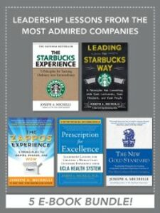 Foto Cover di Leadership Lessons from the Most Admired Companies, Ebook inglese di Joseph Michelli, edito da McGraw-Hill Education