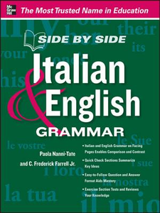 Ebook in inglese Side by Side Italian and English Grammar Nanni-Tate, Paola